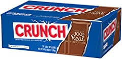 CLASSIC CHOCOLATE BAR: This Crunch bar features light, airy rice crispies covered in rich, creamy milk chocolate, a sweet and familiar treat in an original full size bar PERFECT FOR SHARING: With 36 full sized, individually wrapped candy bars, this p...