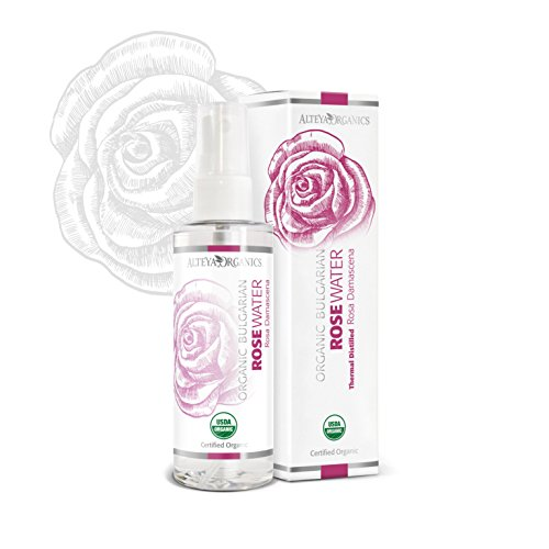 Alteya Organic Agua Floral de Rosa (Rosa Damascena) 100 ml – Spray -