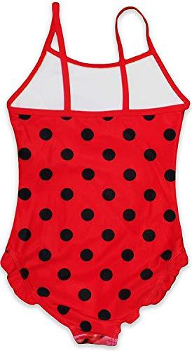 Miraculous Ladybug Girls Swimwear (4 Years, Red)