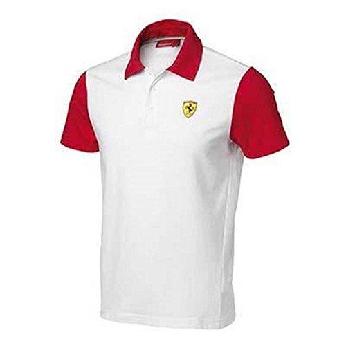 Ferrari Polo Homme Bicolore Taille L