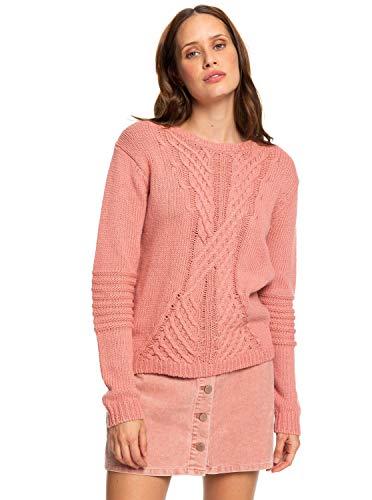 Roxy Glimpse of Romance - Jumper - Pullover - Frauen - XL - Rosa