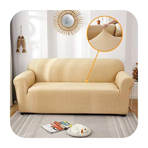 ZaHome Funda de sofá elástica para sofá, funda de sofá para sala de estar, sofá, sofá, esquina, toalla, funda de sofá, funda para muebles, 29 – 3 plazas (195 – 230 cm)