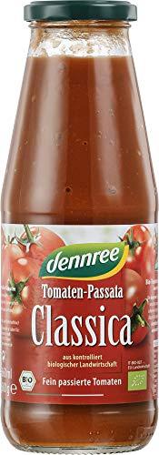 dennree Bio Tomaten-Passata, Classica (6 x 680 gr)