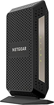 NETGEAR Cable Modem CM1000 - Compatible with All Cable Providers Including Xfinity by Comcast Spectrum Cox | for Cable Plans Up to 1 Gigabit | DOCSIS 3.1 Black  CM1000-1AZNAS