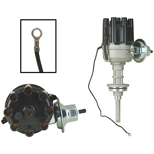 New Distributor Replacement For 1961-1973 Chrysler, Desoto, Dodge Charger, Plymouth Barracuda V8 275 318 340 361, Replaces 1838505 1889554 1889560 1889710 2095199