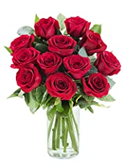 "This Farm Direct Bouquet Contains 12 Stems of Red Roses with a Clear Glass Vase Purchase by 6 am EST , Your Hand Crafted Bouquet will arrive in 2-3 days. Flowers will be sent ANONYMOUSLY unless you check the box ""THIS IS A GIFT"" in your cart or ""ADD ..."