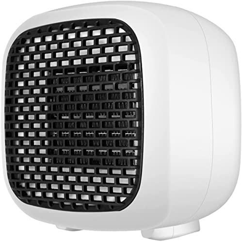 LLRZ Termoventilador 800W Pequeño Calentamiento portátil Calefacción Ventric Cerámica Calefacción Soplador de Aire Caliente for Uso en Interiores Vertical Calefactor