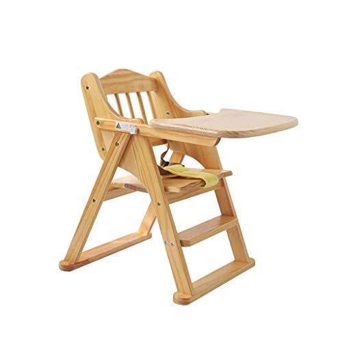 Comfortable Home Chaise de Salle à Manger Pliante pour bébé, Petite Chaise Haute, Facile à Transporter, adaptée à la Famille de Restaurants commerciaux