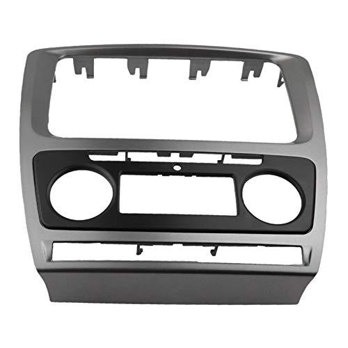 MIAOXIAO Seedling Store 2 Radio DIN Fascia Ajuste para Skoda Octavia Audio Audio Panel DE Montaje DE Montaje DE Montaje DE Montaje DE LA INSTALACIÓN Adaptador DE FRENADOR