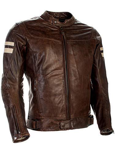 Richa Lederjacke Motorrad Hawker Cognac XL braun