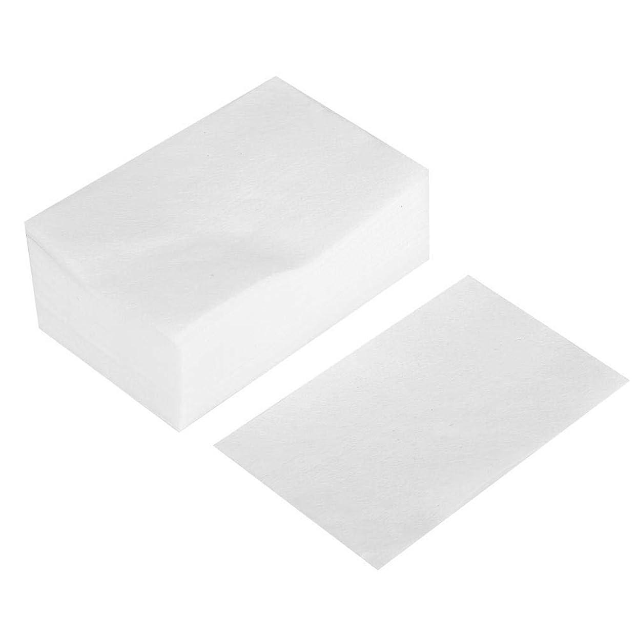 湿気の多いアスリート白菜400個/箱使い捨て化粧コットンパッド、ソフトコットン化粧落とし洗顔と拭き取り