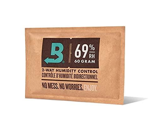 Boveda 葉巻/タバコ用 69-RH 2-湿度 コントロール サイズ 60 使用 25 葉巻 ヒュミドール ホールド 特許取得済み 技術 シガー ヒュミドール 1-カウント