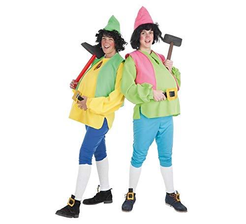 Creaciones Llopis dwerg-kostuum voor volwassenen, geel, maat XL, 50-52