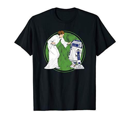 Star Wars Princess Leia and R2-D2 T-Shirt