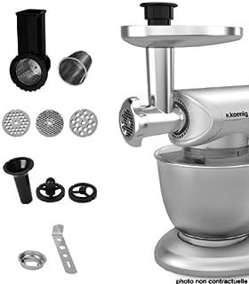 H.Koenig 80137 AC8 Accessoires pour robots, INOX