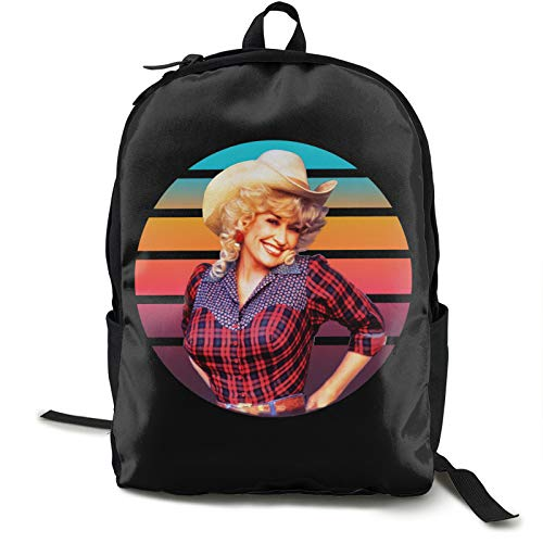 Dolly-Parton Classic Shoulders Fashion Printing Portable Lightweight and Durable Backpack