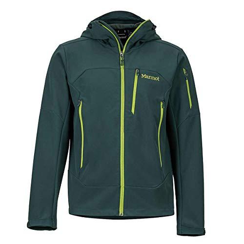 Marmot Herren Moblis Jacket Softshelljacke, Dark Spruce, L