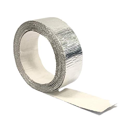 "Newtex Z-Flex Self-Adhesive Heat Reflective Heat Resistant High Temperature Tape (1.5"" x 15')"