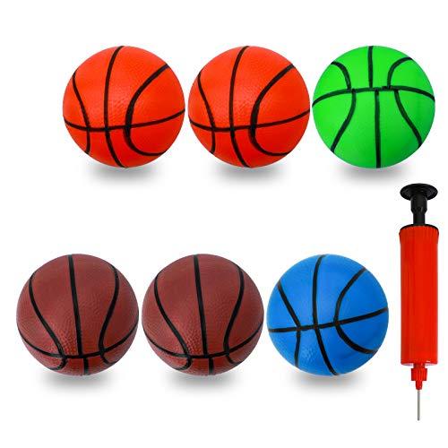 CYFIE 6 pcs Mini Pelota para Baloncesto Juego de Oficina y casa