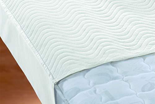 biberna Sleep & Protect 0809952 Inkontinenz-Stecklaken atmungsaktiv, (blut-, urin- und wasserundurchlässig), antibakteriell 1x 75x160 cm > 90x160 cm weiß