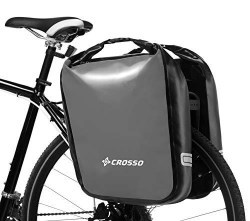 Crosso Dry Big Dry Big Unisex fietstas, volwassenen, grijs, 60 L