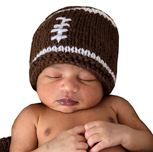 crochet football hat - 2