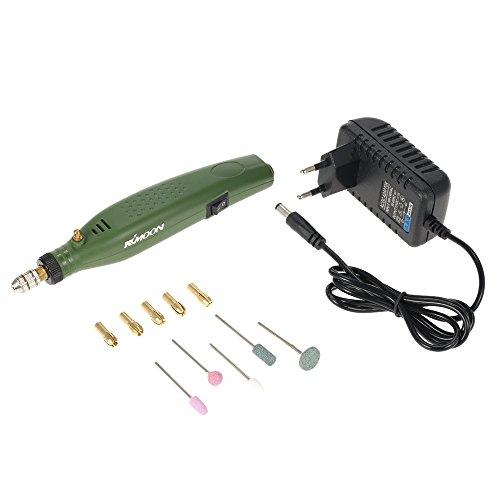 KKmoon AC110V-230 V mini-slijpmachine, elektrisch, professioneel, goede kwaliteit, elektrische boormachine, gereedschap in praktische set, uitstekende frezen, polijsten, boren, graveren