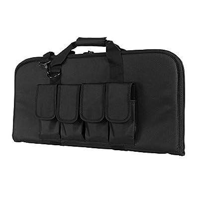 "VISM by NcStar 2910 Pistol Subgun Gun Case, Black, 28"" x 13"""