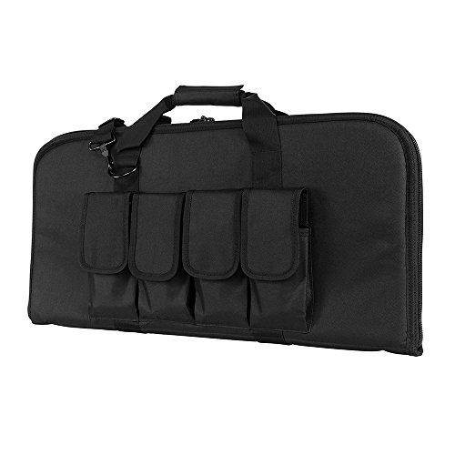 VISM by NcStar 2910 Pistol Subgun Gun Case, Black, 28' x 13'