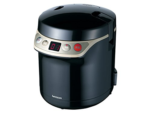 KOIZUMI [with warm-timer function] Rice cooker mini [0.5 to 1.5] Go Black KSC-1510 / K