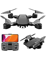 Drones With Camera And Gps Fallow Me 4k Drone For Adults Kids Drones Anti-Shake Four Axis 1080P HD Aerial Photography (Color : White)
