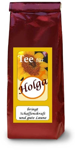 Holga; Früchtetee; Namenstee
