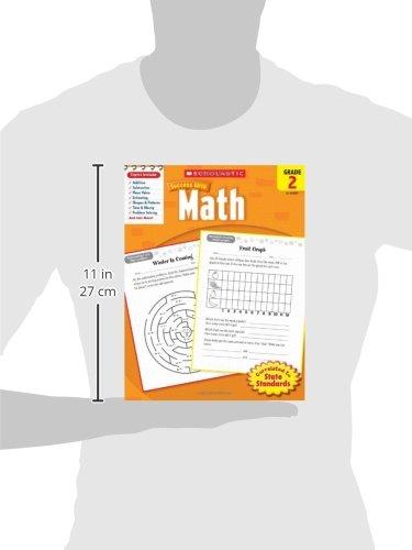 Scholastic Success with Math, Grade 2 (Scholastic Success with Workbooks: Math)