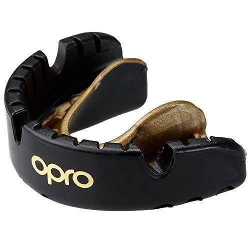 Opro Mundschutz, Gold für Zahnspangenträger, schw-Gold