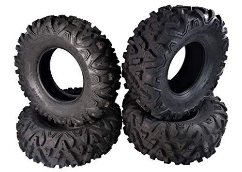 "MASSFX KV 26"" Tall ATV/UTV Off-Road Utility Tire (26x9-12 Front 26x11-12 Rear Set)"