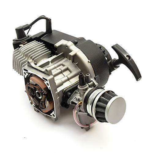 GOOFIT 15mm Carburateur Carb pour 49cc 2stroke Moteurs Pocket Bike