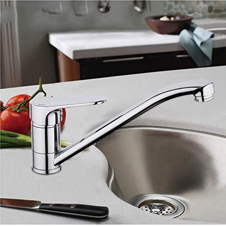 Messing Wassermischer Küchenwasserhahn Spüle Wasserhahn Einhand-Wasserhahn Wassermischer