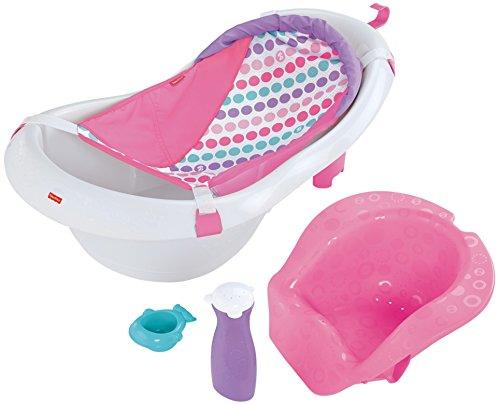 Fisher-Price 4-in-1 Sling 'n Seat Tub, Pink
