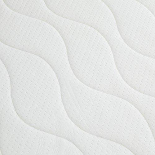 Amazon Basics Colchón extra confort de muelles de 7 zonas, 80 x 190 cm - medium hard (H3 / H3 +)