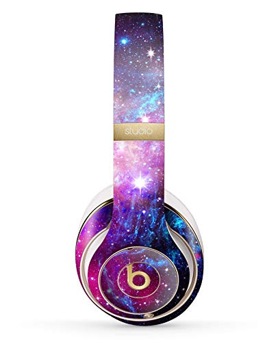 Bright Trippy Space Design Skinz Full-Body Premium Authentic Skin Kit for The Beats by Dre Studio 2 or 3 Remastered Wireless Headphones Ultra-Thin Protective Decal Wrap