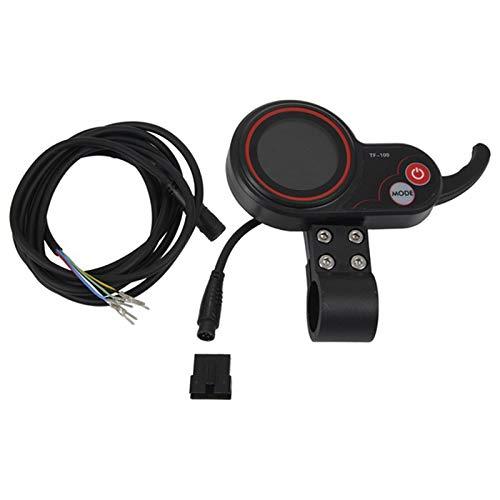 tellaLuna 36V E-Bike Scooter Instrumento Pantalla LCD para Controlador de Velocidad Bicicleta...