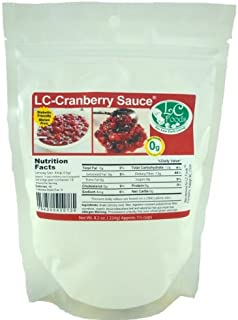 Low Carb Cranberry Sauce Mix - LC Foods - All Natural - Paleo - Gluten Free - No Sugar - Diabetic Friendly - 8.2 oz