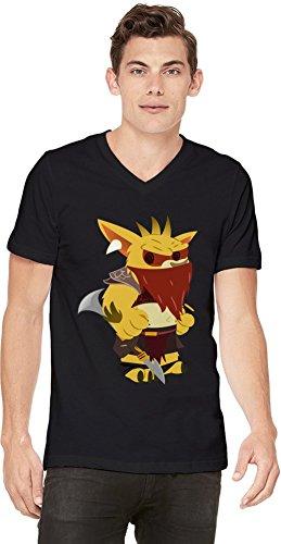 Dota 2 Hero Bounty Hunter Mens V-neck T-shirt Medium