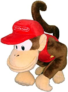 Nintendo Official Super Mario Diddy Kong Plush, 6""