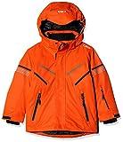 CMP Veste de ski pour garçon 39w1854 8-9 ans Rouge orange.