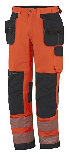 Helly Hansen Workwear waarschuwingsbescherming montagebroek York Construction Pant werkbroek 52 EU oranje