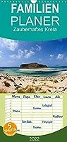 Zauberhaftes Kreta - Familienplaner hoch (Wandkalender 2022 , 21 cm x 45 cm, hoch): Natur, Kultur und mehr ... die schoensten Ecken Kretas (Monatskalender, 14 Seiten )