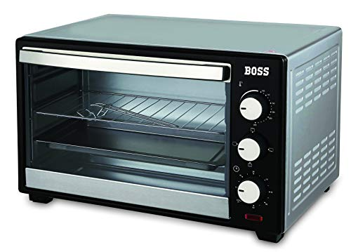 Boss Desire 19L Oven Toaster Griller OTG, 1380 W, 5 Heating/Cooking Functions,...