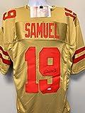 Deebo Samuel San Fransico 49ers Signed Autograph Custom Jersey Gold JSA Witnessed Certified