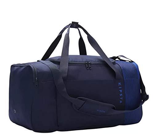Kipsta Borsa Borsone Sport Essential 55 Litri Blu 27 x 30 x 60 cm Ripiegabile